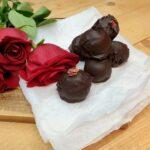 Šokolaadiga kaetud kirsitrühvlid (5 koostisosa)