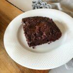 Gluteenivaba brownie punapeediga